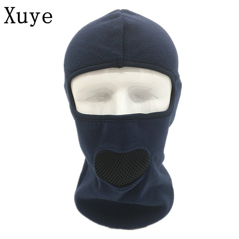 XUYE  winter headwear Ski Cycling riding Motorcycle neck head warmer Protection full face mask hats caps Skullies Beanies