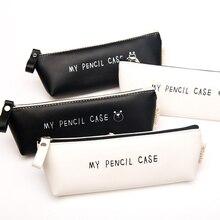 2016 supplies to school pencil box pouch pen boxes case for school kids kawaii pencil cases pouch pen bag canvas bags pencilcase