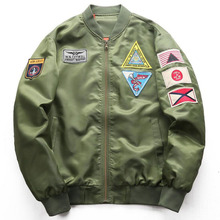 2019 Autumn Men Bomber Flight Pilot Jacket Men Ma-1 Flight Jacket Pilot Air Force Male Army Military Motorcycle Brand Outwear все цены