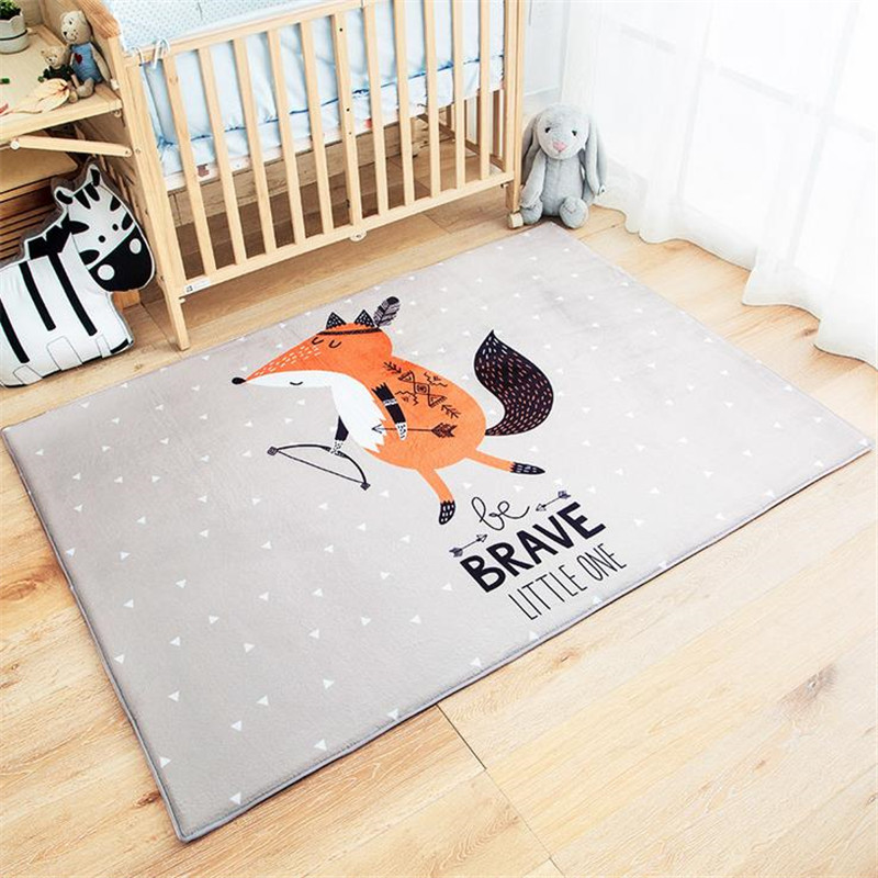 120x170cm soft carpet kids room home area rug for living for Mats for kids room