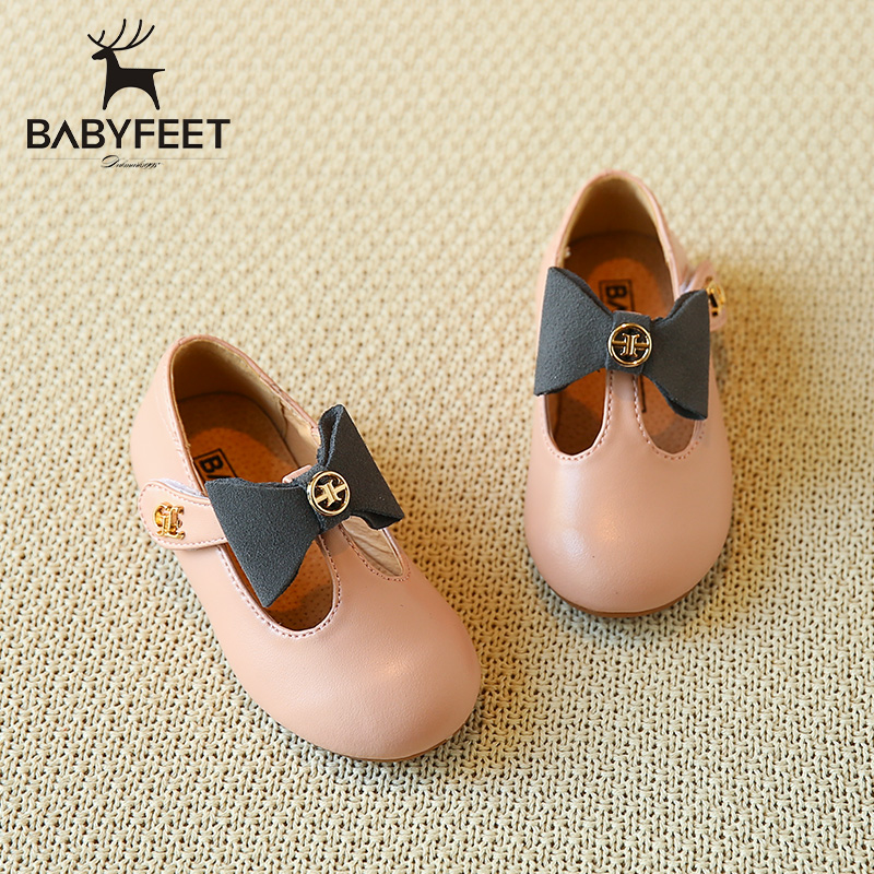 Babyfeet  breathable baby shoes 1-3 year old children girls party shoes princes wedding shoes bow toddler girls chaussure enfant babyfeet summer cool toddler shoes 0 2 year old newborn baby girl