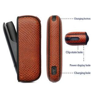 Image 5 - Jinxincheng 2Pc Lot Leather Case Voor Iqos 3 Cover Pouch Voor Iqos 3.0 Beschermende Houder Tas Accessoires