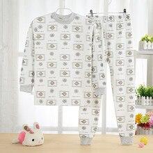 Pijamas enfants jeunes garçons impression pijama ensembles T-shirt + pantalon costumes Pyjama Enfants pyjama En Coton ensemble 5Y-13Y peigné coton