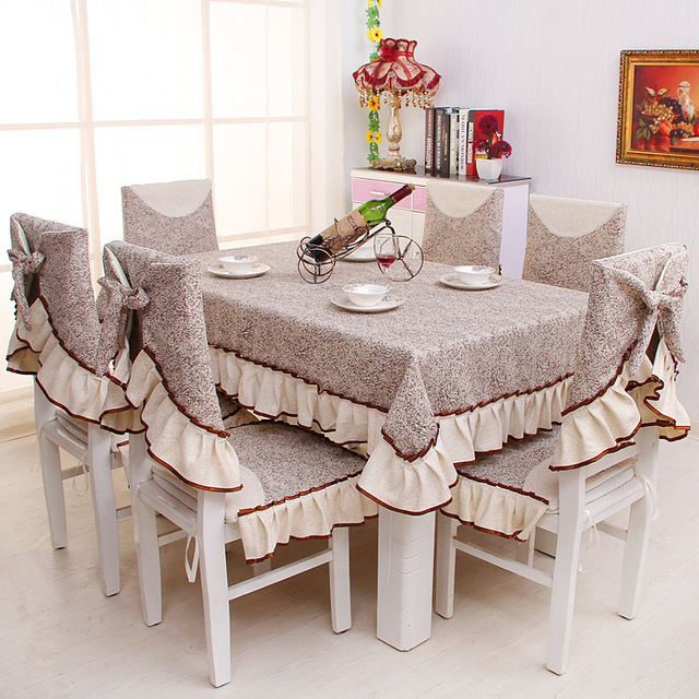 Etonnant Eat Chair Cushion/chair Cover/antependium Suits, European Aristocrat Series  Printed Table Cloth