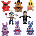 "Five Nights At Freddy's 4 FNAF Freddy Fazbear Bear Foxy Plush Doll Fnaf 10"" Bear Fox Duck Rabbit Clown Kids Movie Stuffed Toys"