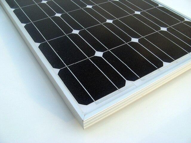 ECO-WORTHY 150W 12V RV Mono Monocrystalline Solar Panel Solar Module 12V  for RV Boat Home Battery Charger