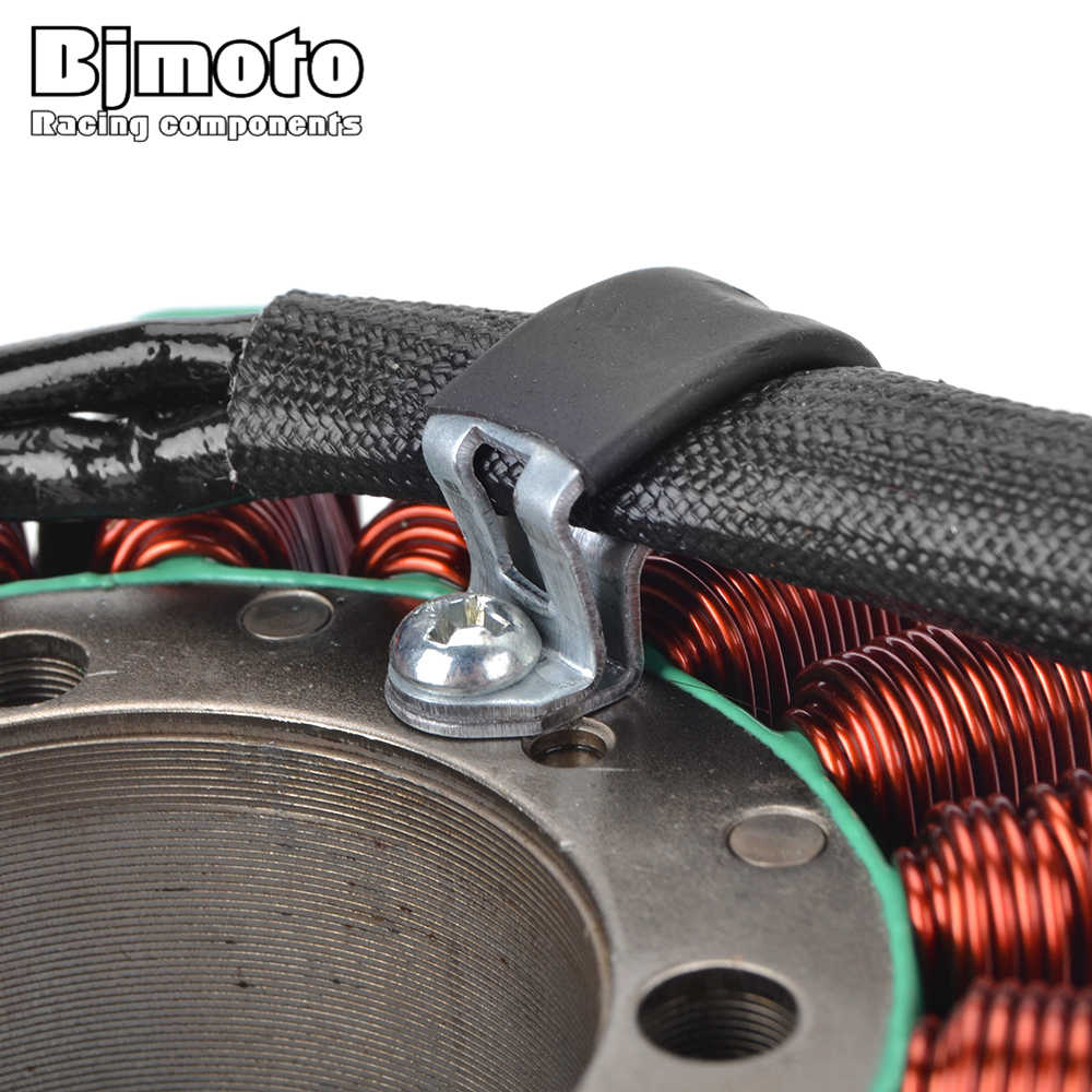 BJMOTO รถจักรยานยนต์ Generator Magneto Stator Coil สำหรับ Honda 31120-MAT-E01 CBR1100XX Blackbird CBR1100 XX CBR 1100XX