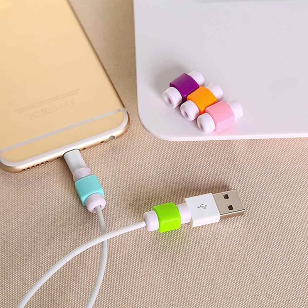 Linha USB Impede Protetor de Telefone a partir de Caso capa Protetora Anti desconexão De Ruptura do Cabo cabo de Dados Aleatórios