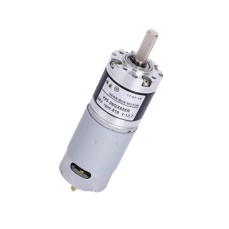 36mm DC motor / 12V low speed motor / 24V speed motor / 36GX555R slow planetary gear motor