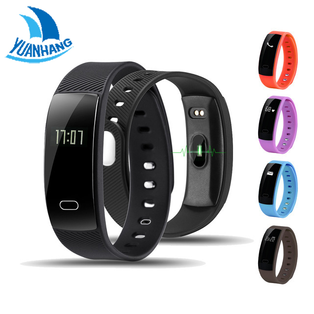 YH QS80 Heart Rate Monitor Smart Band Wristband with Fitness Tracker Sport Smartband Bracelet Smart Wristband