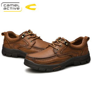 Image 4 - Camel Active New Mens Genuine Leather Oxfords Spring Autumn Waterproof Moccasins Lace Up Men Casual Shoes Outdoors Man Shoes
