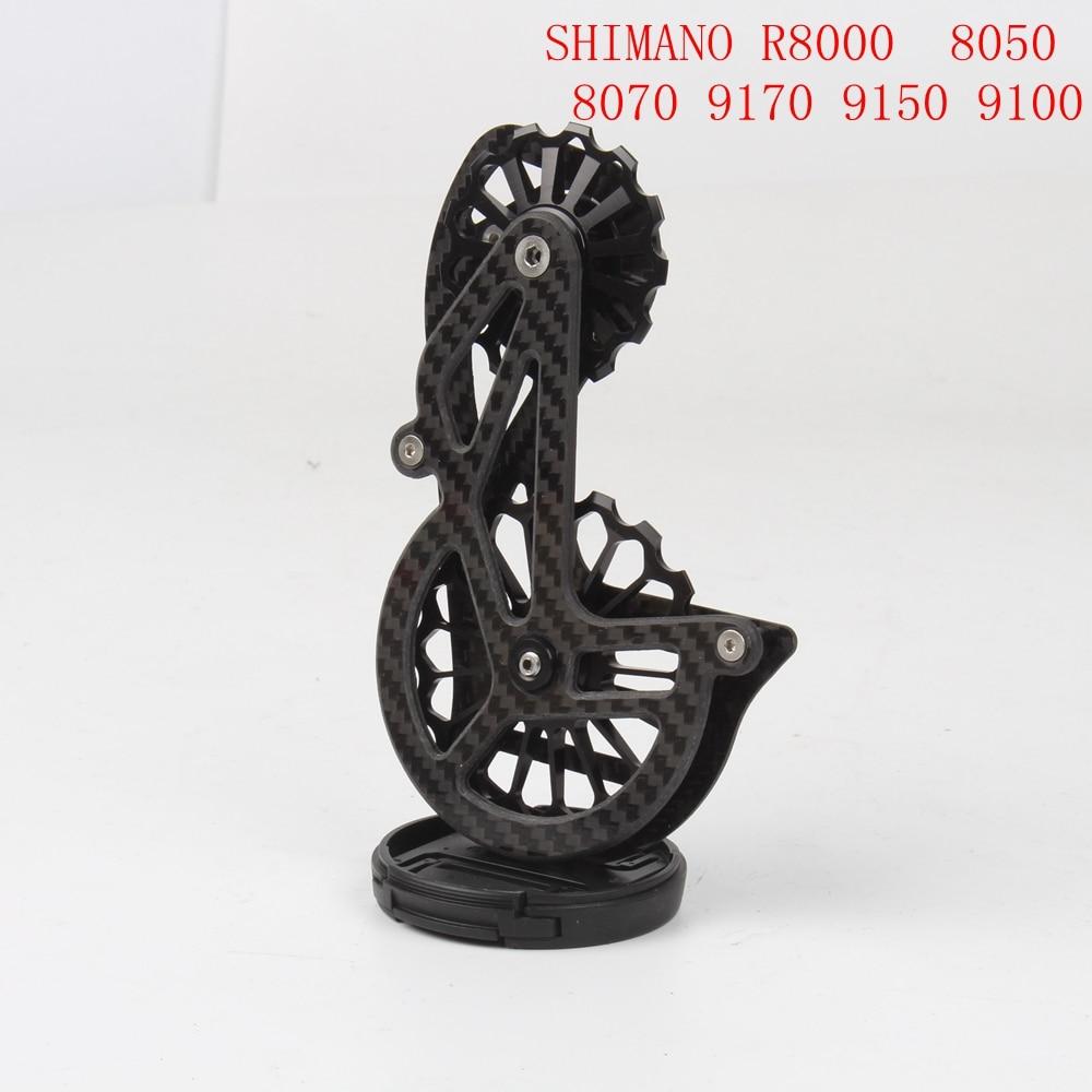 SENSAH céramique vitesse OSPW Shimano 9100 R8000 8050 8070 9150 9170 série enduite