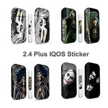 Mrs Win IQOS naklejka na IQOS IQOS 2 4 Plus uniwersalna 3M drukowana skóra ochronna tanie tanio Naklejki Sticker for IQOS 2 4