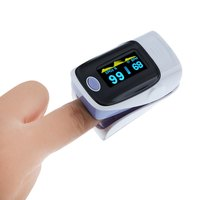 Durable Digital Fingertip Pulse Oximeter Instant Read Health Monitoring Display Suitable Athletes Or Aviation Enthusiasts