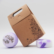 Tsing Bath bomb 120g  Lavender Bubble SPA Handmade Soap 100g Natural bath bombs Scented Gift Set Essential oil
