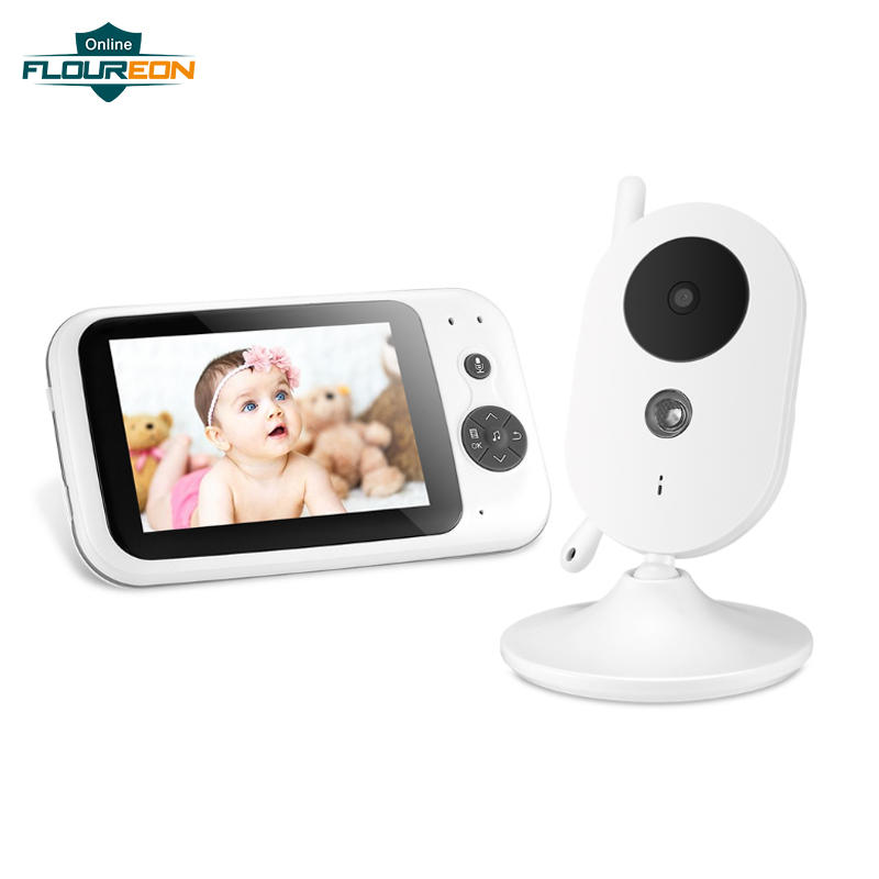Wireless Video Baby Monitor Digital Sleep Monitoring Night Vision Temperature Sensor 8 Lullabies Baby Infant Camera & MonitorWireless Video Baby Monitor Digital Sleep Monitoring Night Vision Temperature Sensor 8 Lullabies Baby Infant Camera & Monitor