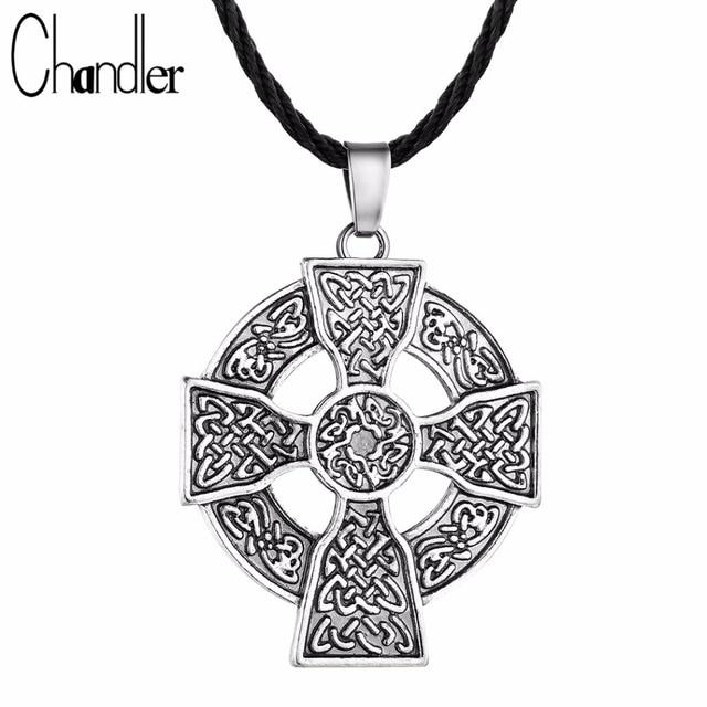 Chandler armenian cross pendant necklace solar cross celtics druid chandler armenian cross pendant necklace solar cross celtics druid amulet kolye europe hot fashion jewelry copper aloadofball Images