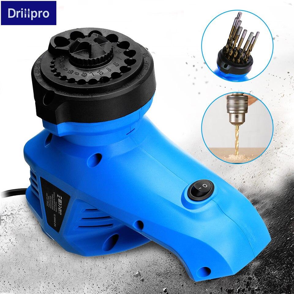 Electric Drill Bit Sharpener Twist Drill Grinding Machine Drill Grinder Drill Milling Machine 3-12mm 220V Nibbler