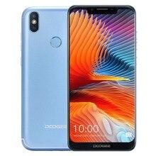 "DOOGEE BL5500 Lite Cell Phone 5500mAh 1 4G Lte 6.19"" Android 8.1 3.0MP Fingerprint ID Unlock 2GB 16GB Dual SIM Smartphone"