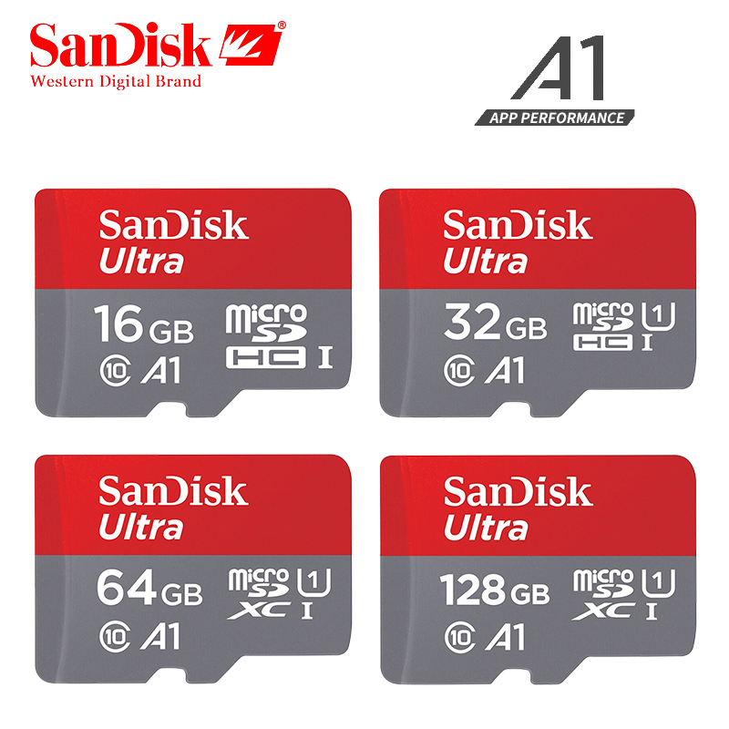 SanDisk micro sd 128GB 64GB 32GB 16GB 90mb/s TF usb flash memory card microsd 8GB/48MB/s class10 Original Product free shipping цена и фото