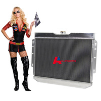 High Performance 3 ROW CORE ALUMINUM RADIATOR FOR 1960 1965 Chevy Biscayne 1959 1963 Chevy Impala