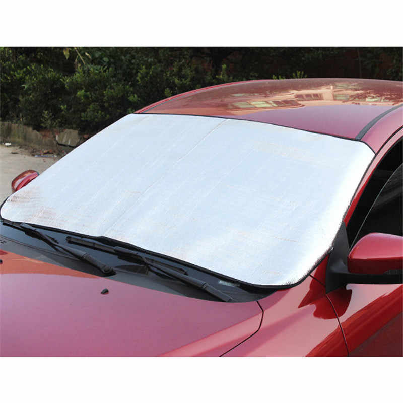 TOSPRA Car Exterior Protection Snow Blocked Car Covers Snow Protector Windshield Cover Block Shields Visor Sun Shade Fornt Rear