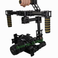 Free ShippingDYS DSLR 3 Axis Brushless Gimbal Handle Camera Gimbal Carbon Mount AlexMos Controller 3 Motor