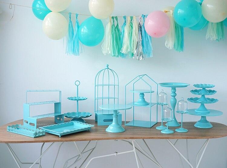 mesa decoração festa fornecedores 3 camadas birdcage