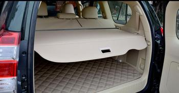 1 Pc מטענים ריפוד רכב תא מטען וילון מופרד בלוק מחצלת עבור טויוטה פראדו 2010-2017 שטיח פנים מחצלות עור כרית רכב סטיילינג