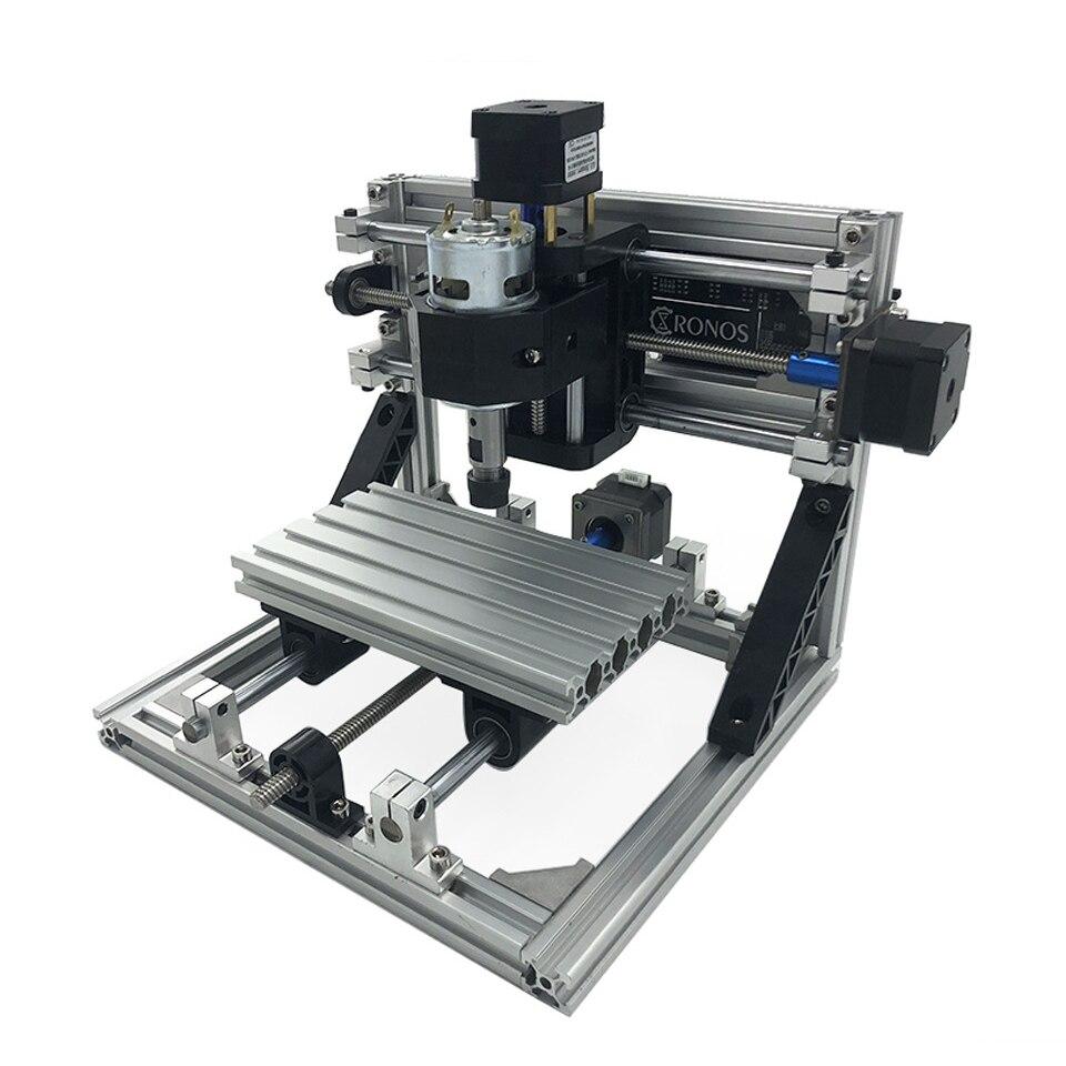 1610 CNC graveur Machine 3 axes PCB fraisage graveur bricolage Mini bois Carver routeur avec broche ER11 GRBL contrôleur