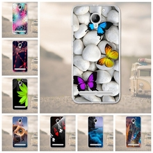 "For Lenovo Vibe C2 k10a40 5.0""Case Silicon Phone Case For Lenovo C2 Power Cover Soft TPU 3D Flower Cases Covers Mobile Phone Bag"