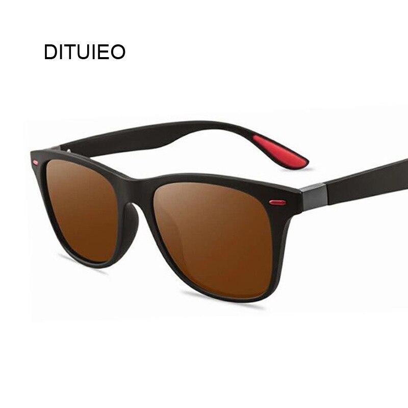 Retro Polarized Sunglasses Brand Designer Men Business Driving Sun Glasses Male Vintage Goggles Square Eyewear Oculos