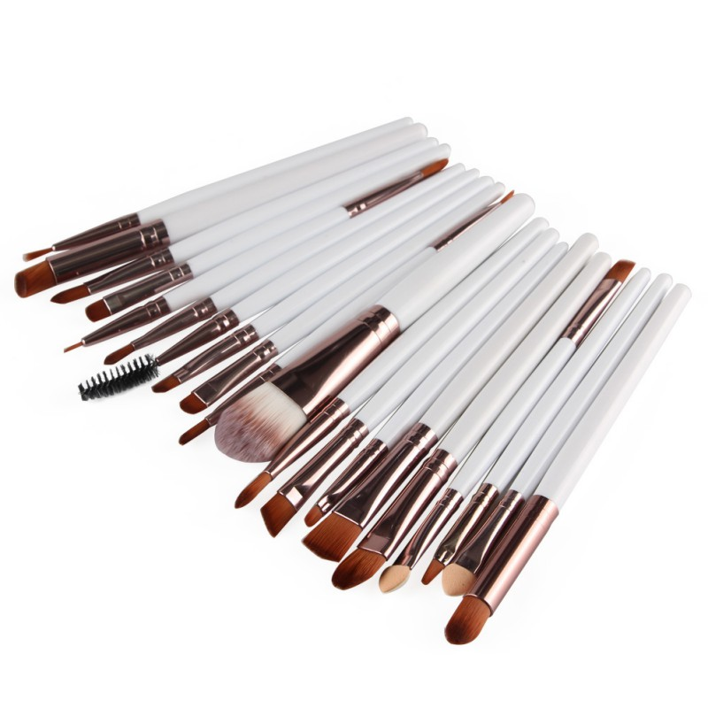 Marke <font><b>15</b></font> stücke Make-Up Pinsel Synthetische Make-Up Pinsel <font><b>Set</b></font> Tools Kit Professional Kosmetik Top Qualität image