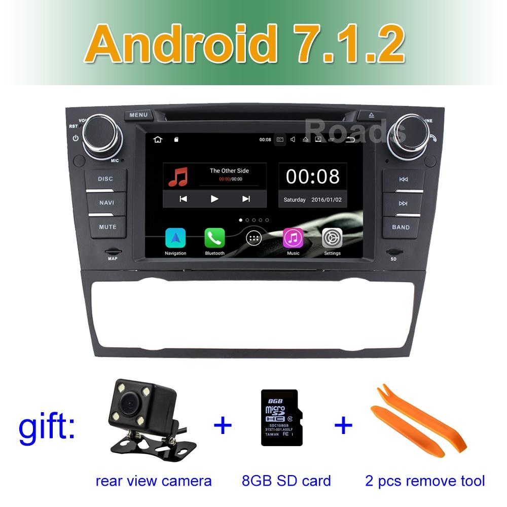 2 gb ram android 7 1 voiture lecteur dvd gps pour bmw e90 avec bt wifi radio