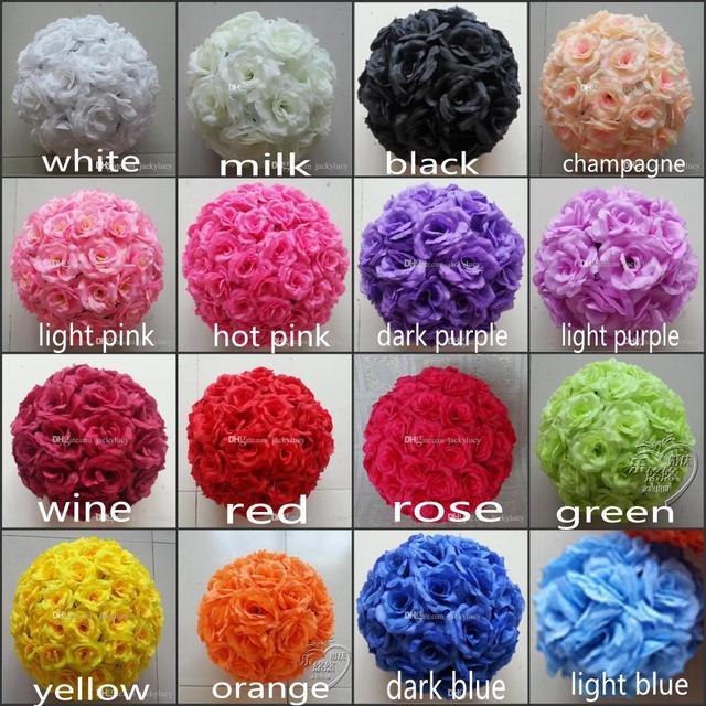 Silk flower kissing balls image collections flower decoration ideas 6 15 cm artificial rose silk flower kissing balls white flowers 6 15 cm artificial rose mightylinksfo