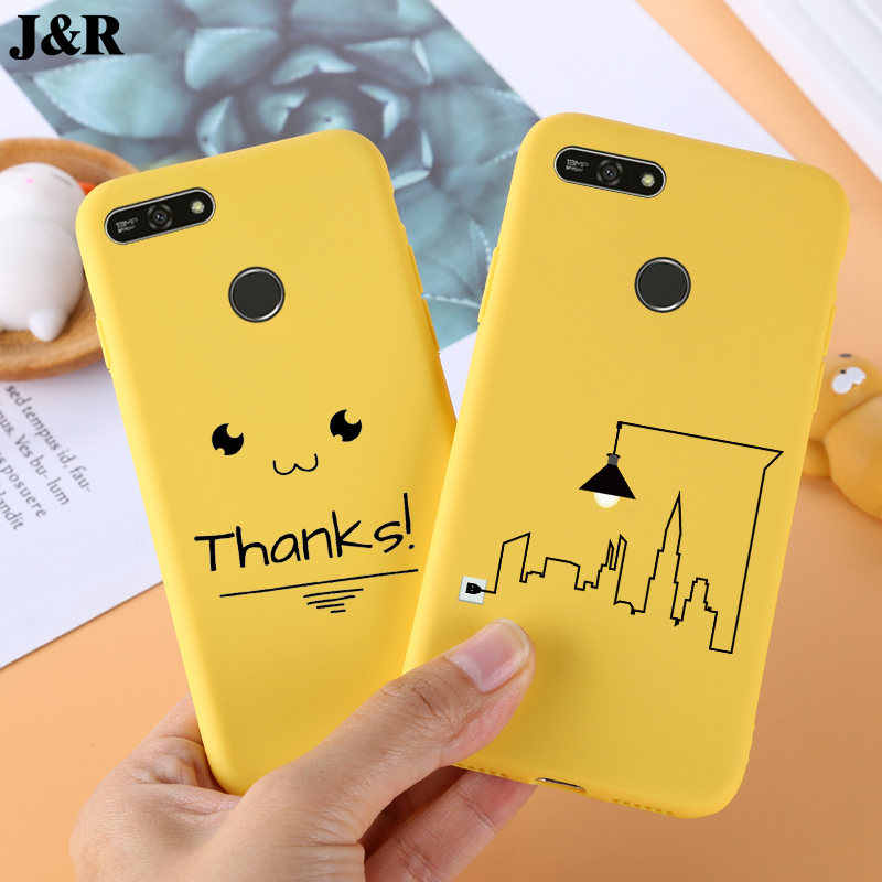 Silicone TPU Case For Huawei Y6 2018 Cover Cute Phone Case For Huawei Y6 Prime 2018 Back Covers For Huawei Y6 Y 6 Prime 2018