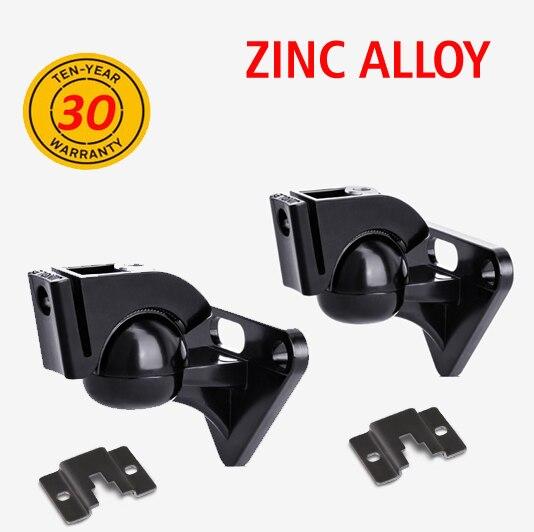 (1pair) R5 Load 5kg 11lbs zinc universal strong sound SPEAKER wall mount rotate tilt swivel