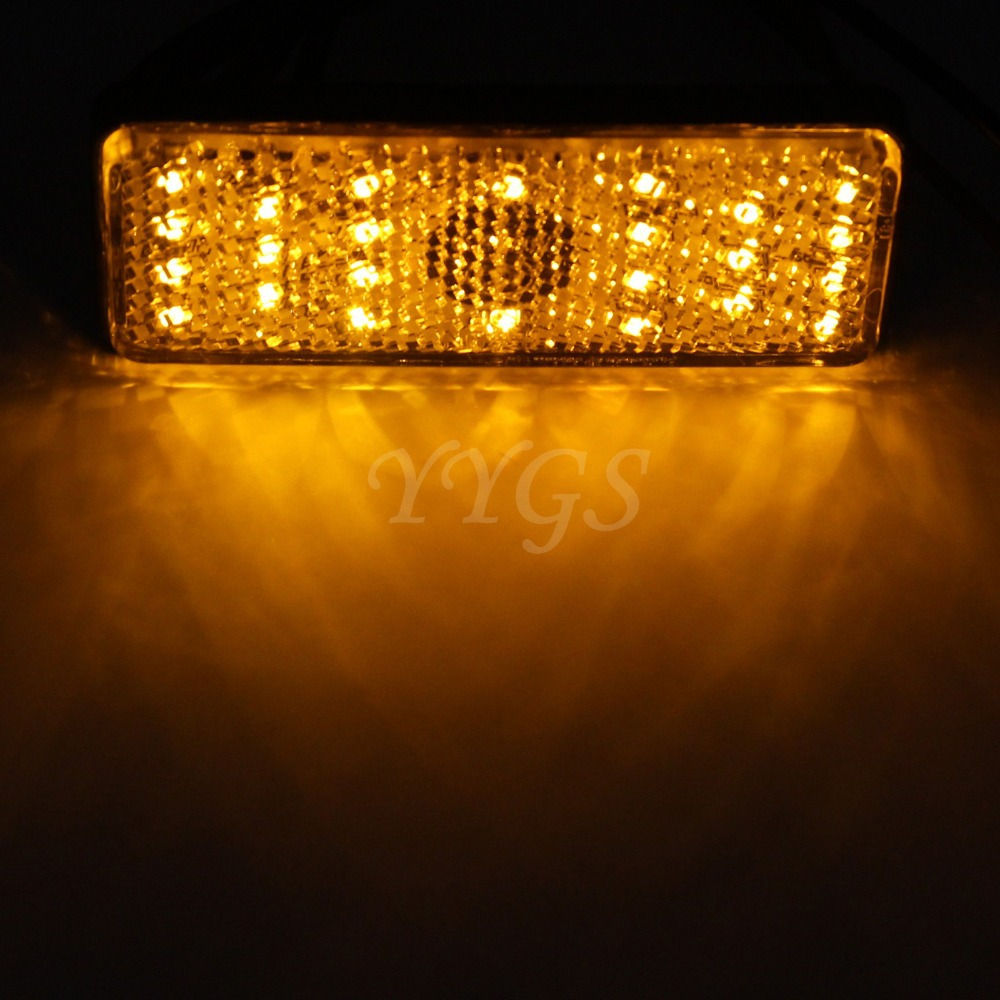 lighting universal. 10pcs RED YELLOW LED White Rectangle Reflectors Brake Light For Universal Motorcycle Car Truck Rear Lights Tail On Aliexpress.com | Alibaba Group Lighting P