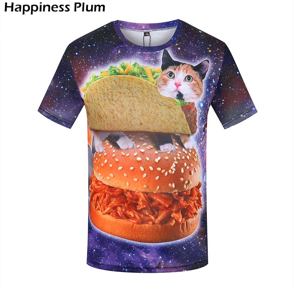 3D Funny Summer Short Sleeve Anime Tops Tee Fashion Mens T Shirt 10