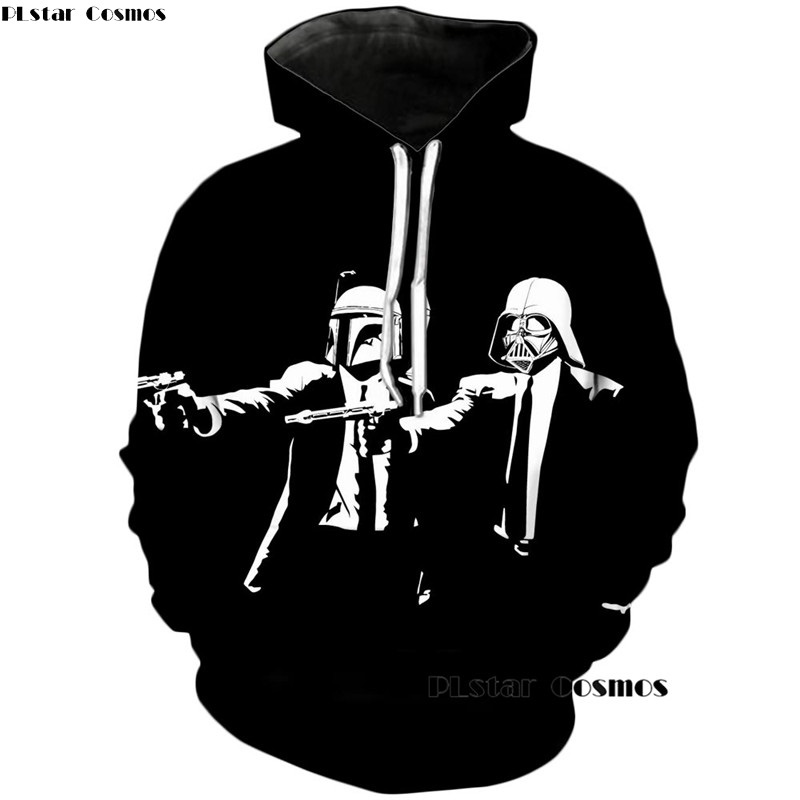 PLstar Cosmos 2018 New Mob Wars 3d Print hoodies Women/Men Star Wars Hoodie Casual Jogger Sweatshirt Long Sleeve Pullovers S-5XL
