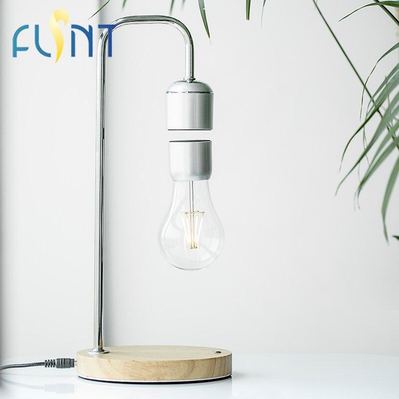 ampoule flsnt magnetique levitation flottant ampoule lampe de bureau 1