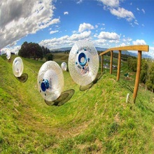 zorb ball 3 M diameter huam hamster ball 0.8 mm PVC material  outdoor game цены