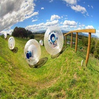 zorb ball 3 M diameter human hamster ball 0.8 mm PVC material outdoor game
