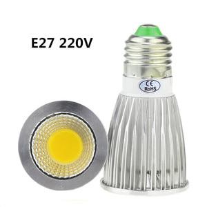 Image 3 - 10X led bulb GU10 220V  9W 12W 15W LED lamp lighting 110V dimmable bombillas E14 E27 GU5.3  MR16 12V  LED COB Spot light