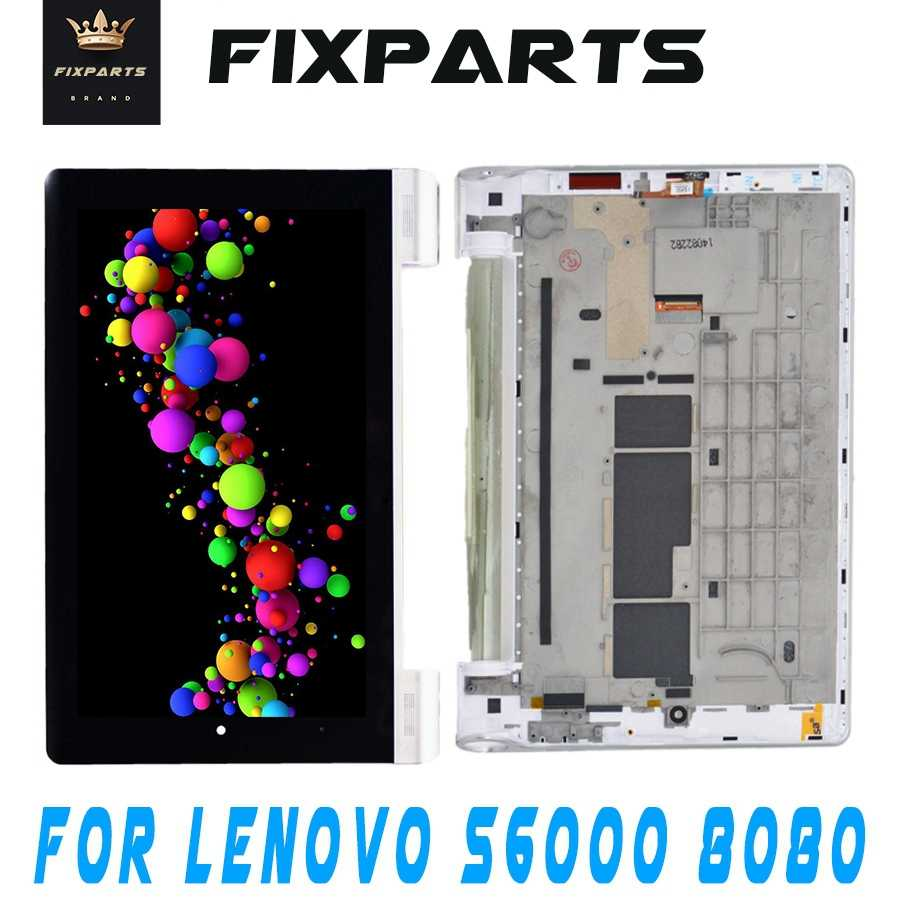 Orijinal 10.1 Lenovo YOGA B8080 B8000 Tablet 10/B8080 S6000 + lcd ekran + dokunmatik ekran digitizer sensörü tam meclisi Tablet Pc
