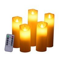 5 pçs led vela lâmpada multicolorido cor simulação flameless chá luz casamento casa festa de aniversário decoração do bolo velas|  -