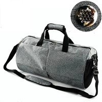 Waterproof Sports Gym Bag For Women Men Fitness Yoga Short Travel Luggage Bags Shoes Storage Shoulder