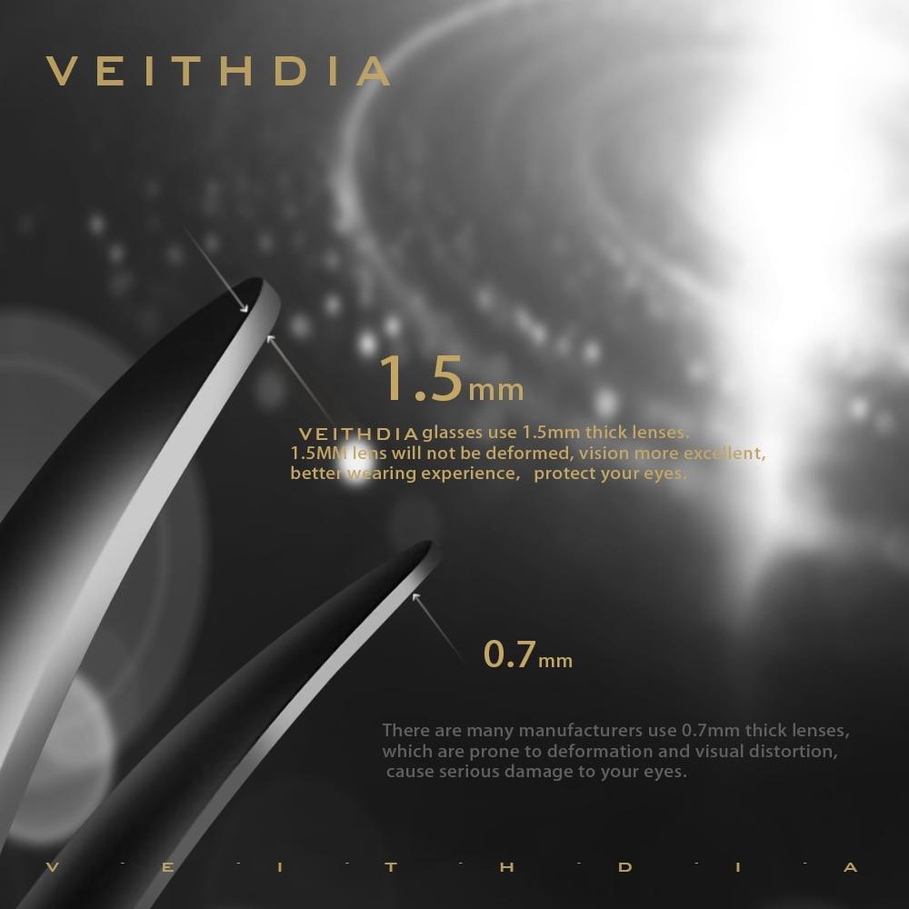 Image 2 - VEITHDIA Brand Designer Unisex Sunglasses Polarized Photochromic Lens Vintage Sun Glasses For Men/Women V8510-in Men's Sunglasses from Apparel Accessories