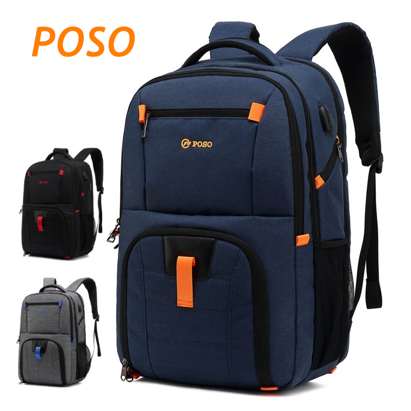 2019 Newest Brand POSO Backpack Bag For Laptop 17 17 3 Case For Macbook 17 3