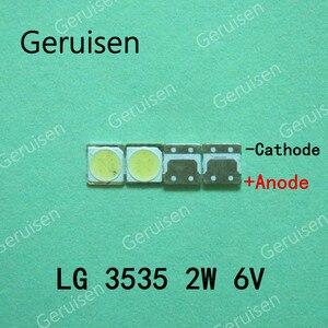 Image 4 - 500PCS עבור LCD טלוויזיה תיקון LG led טלוויזיה תאורה אחורית רצועת אורות עם אור דיודה 3535 SMD LED חרוזים 6V LG 2W